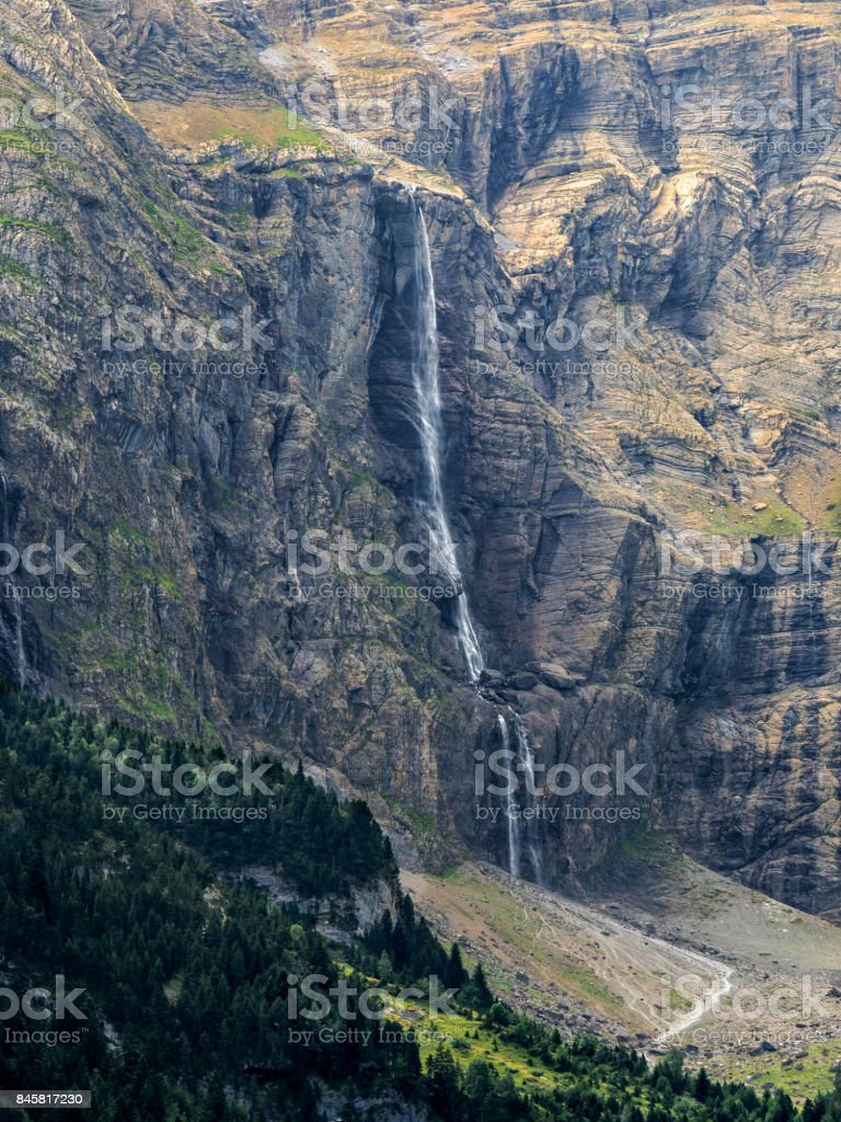 The Great Cascade stock photo