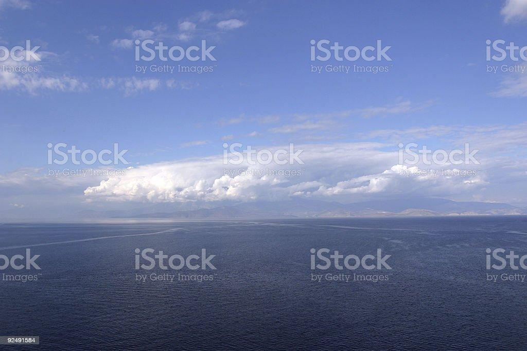 Die great cloud Lizenzfreies stock-foto