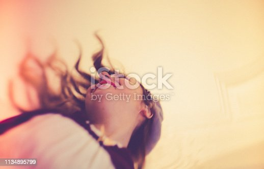 Dancer, Nightclub, Jazz, vintage, flying hair,