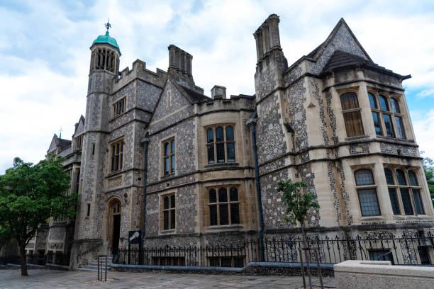 Die große Halle von Winchester Castle – Foto