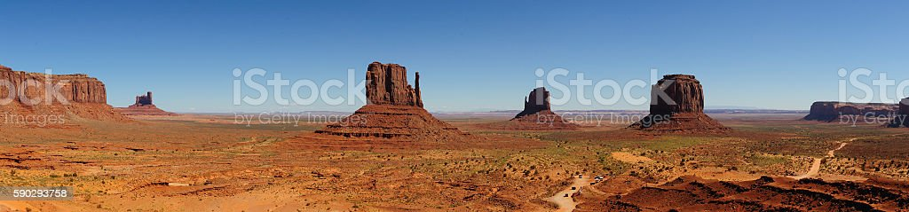 The great Monument Valley royaltyfri bildbanksbilder