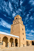 The Great Mosque of Kairouan in Tunisia, North Africa