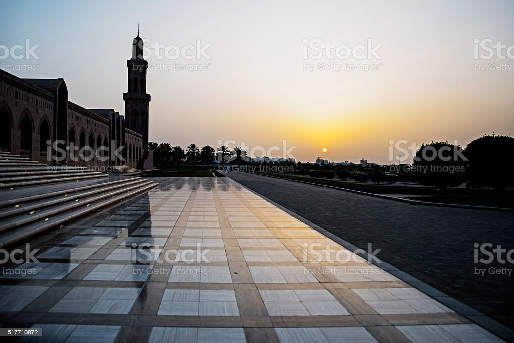 The Great Mosque stock photo