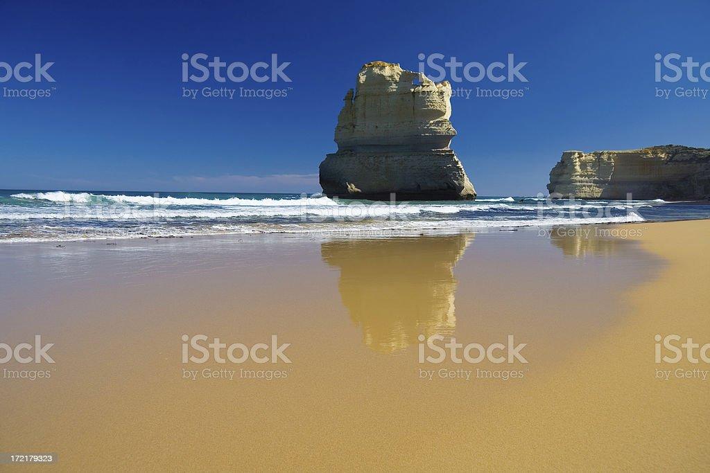 The Great Ocean Road, Victoria, Australia royalty-free stock photo