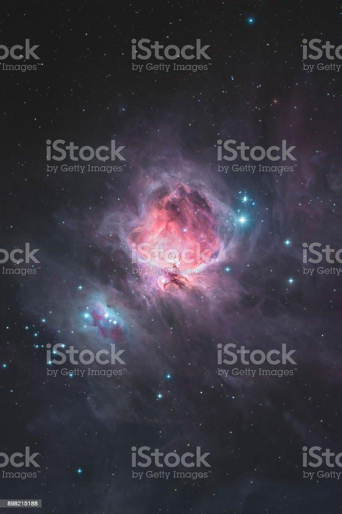 Der große Orionnebel im Sternbild Orion / der Jäger – Foto