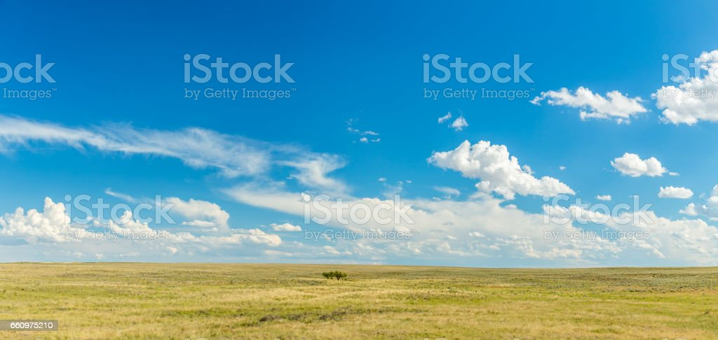The Great Plains stock photo