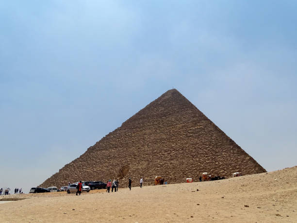 The great Pyramid in Egypt stock photo