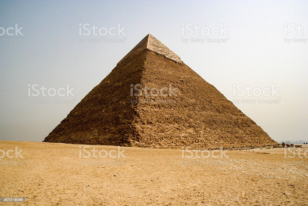 The Great Pyramid of Giza, Egypt stock photo