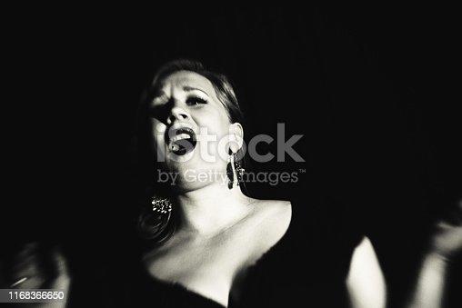 Singer, Nightclub, Jazz, chanson, vintage