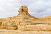 Great Sphinx in Giza plateau. Cairo, Egypt