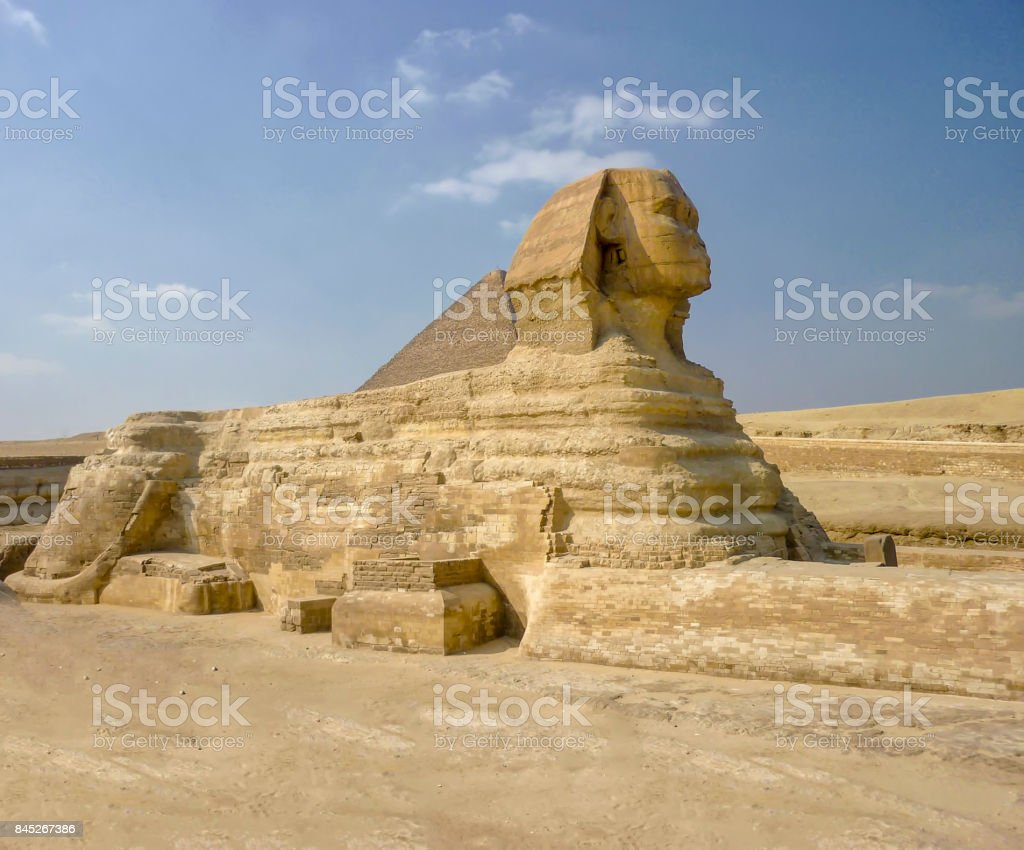 The Great Sphinx Of Giza stock photo