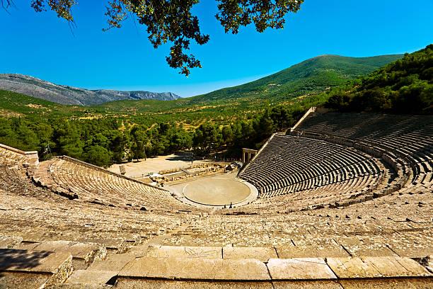 Das Große Theater in Epidaurus – Foto