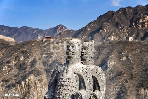 The Badaling area. China famous landmark. wonders of the world