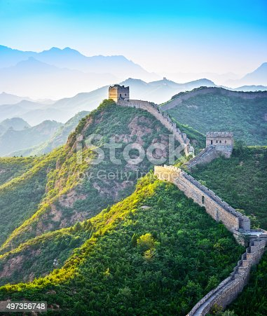 istock The Great Wall of China 497356748