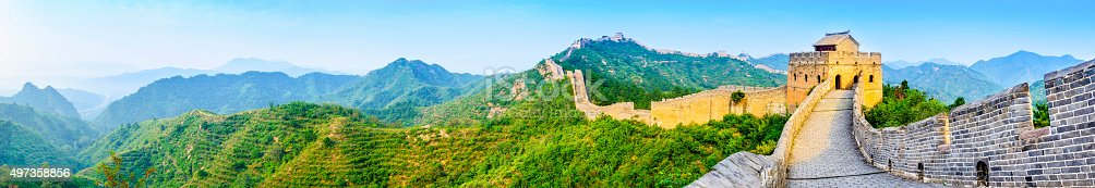 istock The Great Wall of China 497358856