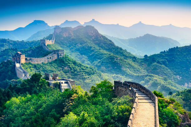 The Great Wall of China. The Great Wall of China. antediluvian stock pictures, royalty-free photos & images