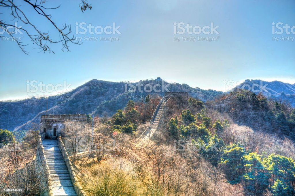 The Great Wall of China stock photo