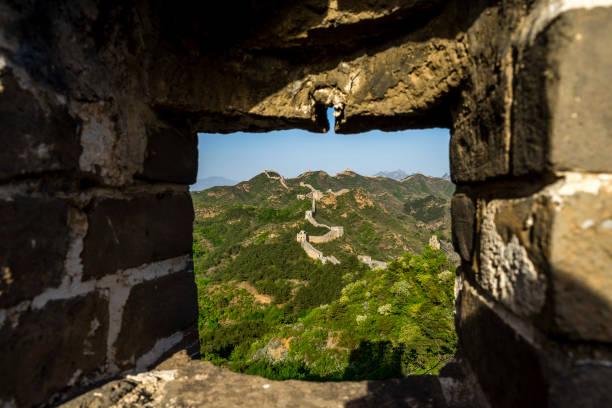 The Great Wall of China, Shinjanling stock photo