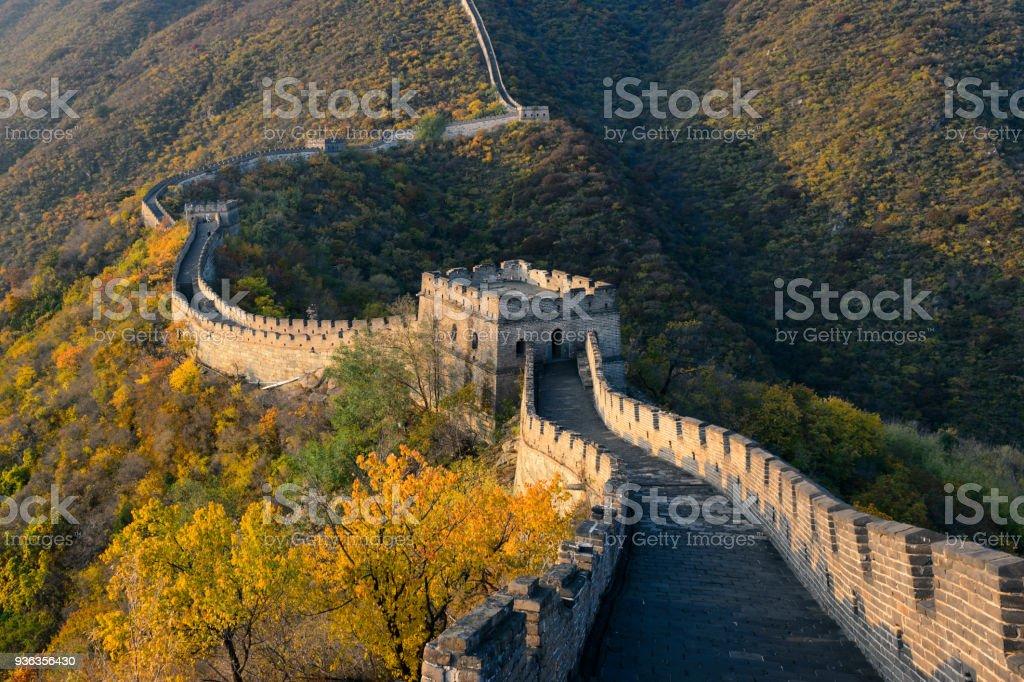 Die chinesische Mauer, Peking Simatai – Foto