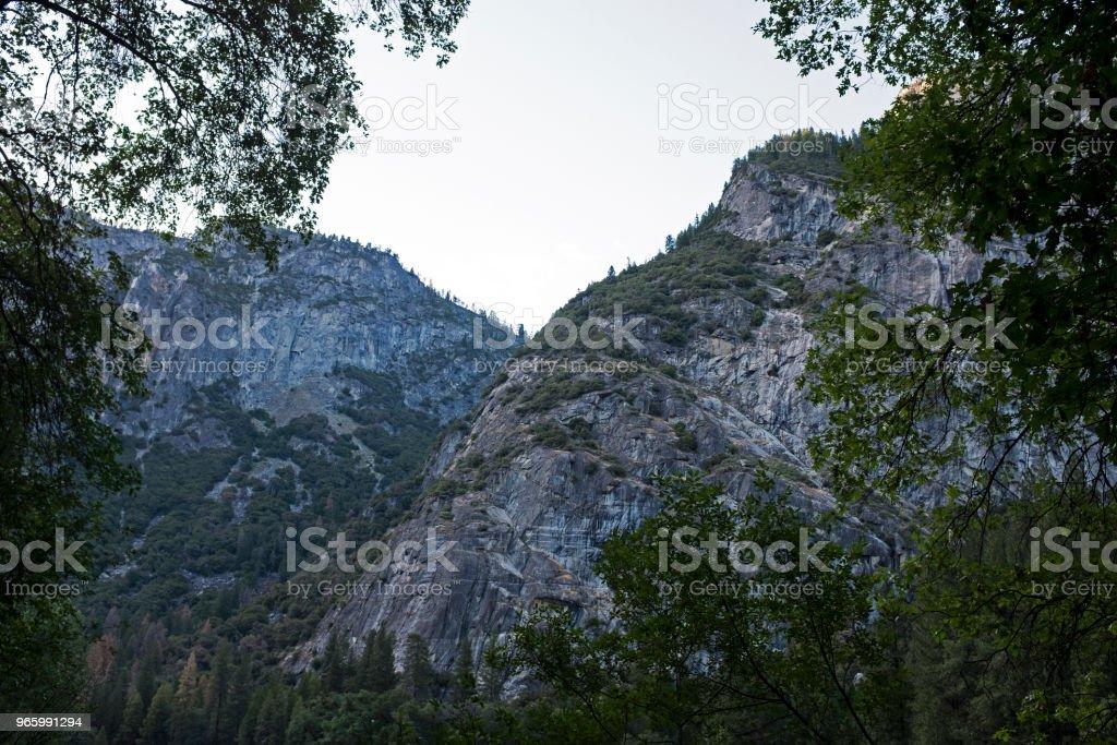 Die großen Yosemite - Lizenzfrei Abenteuer Stock-Foto