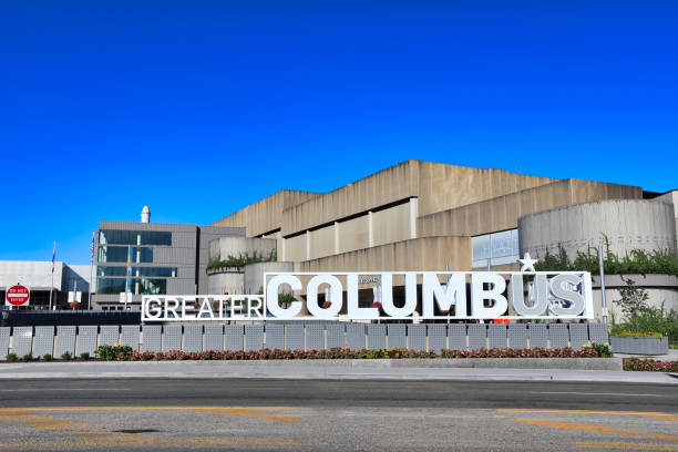 The Greater Columbus Convention Center. stock photo