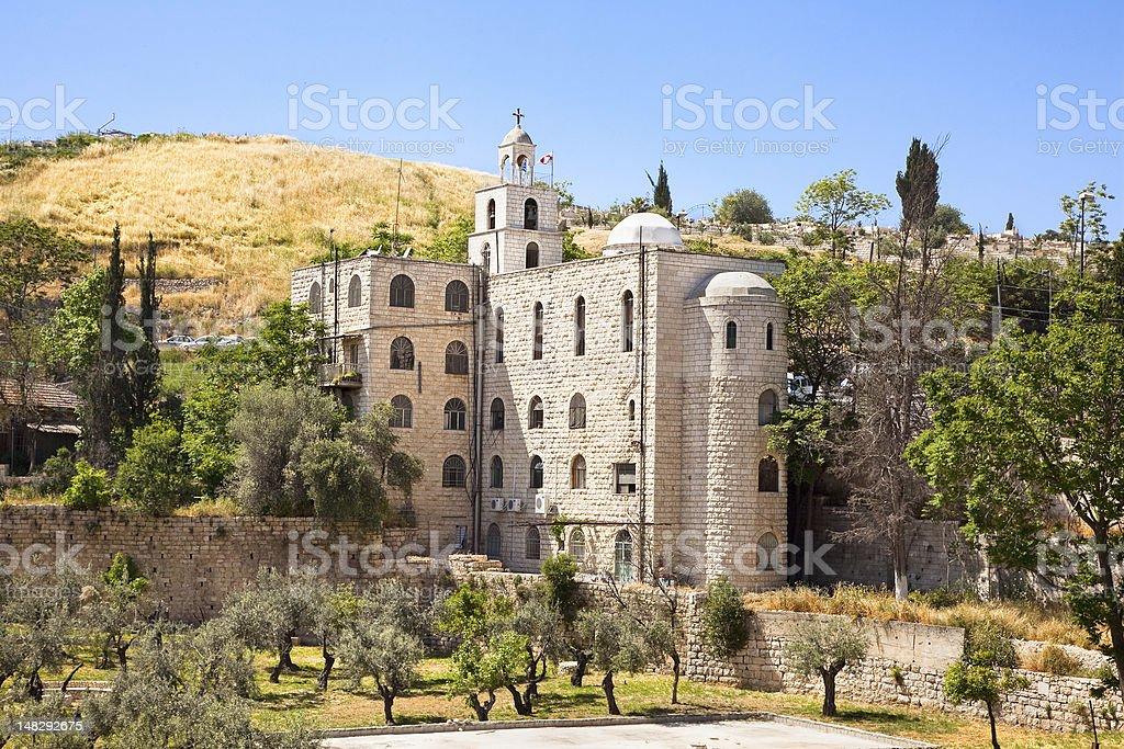 The Greek Orthodox Church Of St. Stephen, Jerusalem royalty-free stock photo