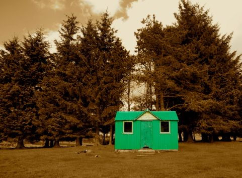 The Green Bothy Stock Photo - Download Image Now