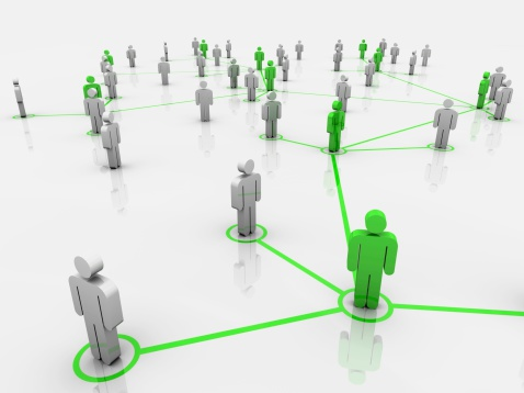 The Green Network Stock Photo - Download Image Now