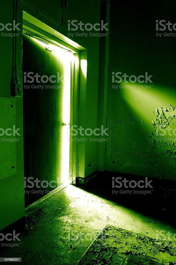 The Green Room royalty-free stock photo