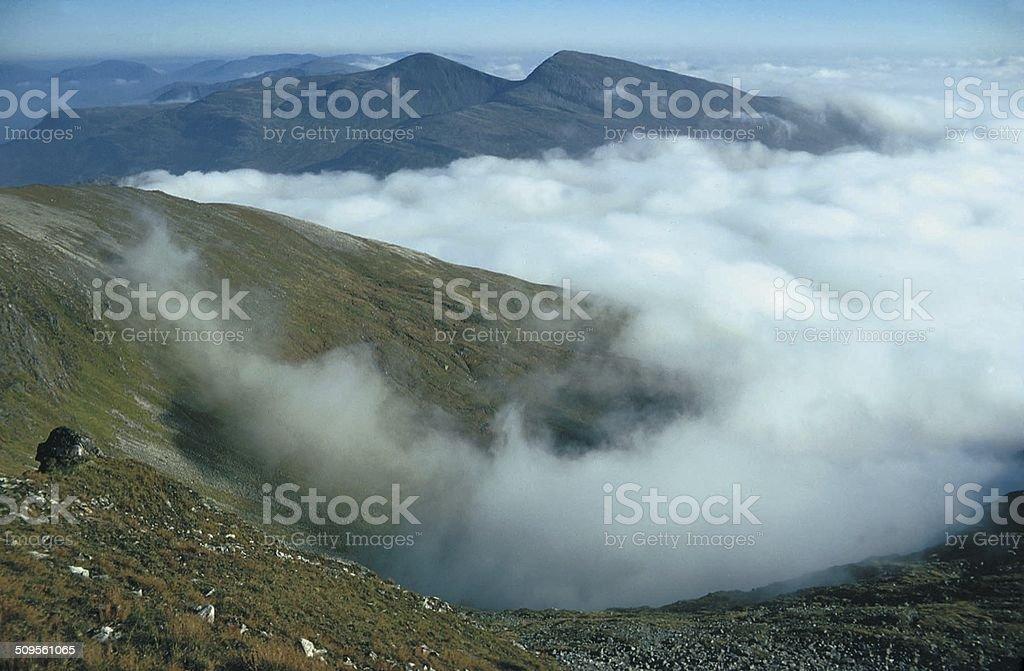 The Grey Corries Ridge, Lochaber stock photo