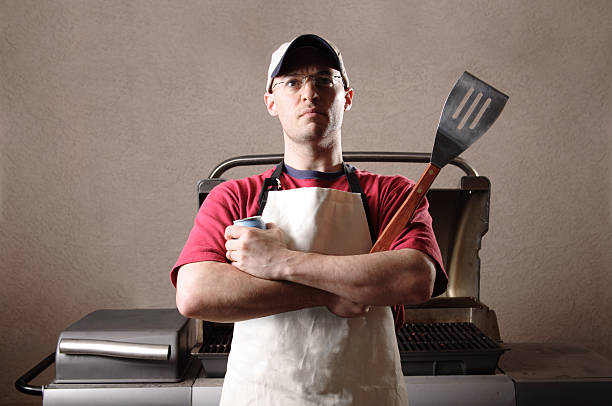 The Grill King stock photo