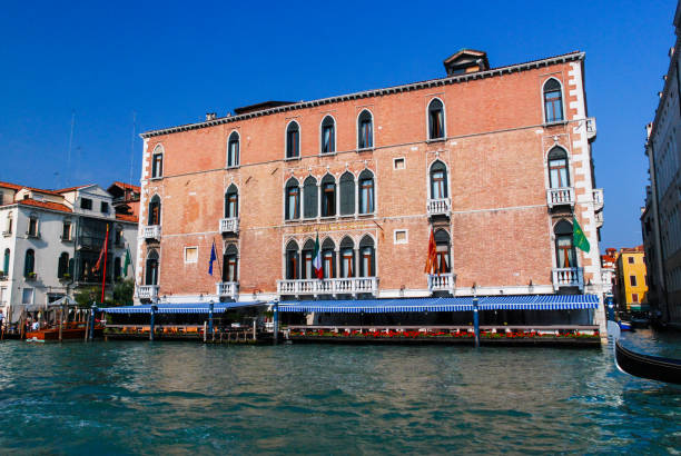 The Gritti Palace, a Luxury Collection Hotel in Venice, Italy stock photo