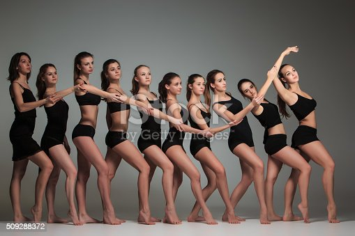 istock The group of modern ballet dancers 509288372