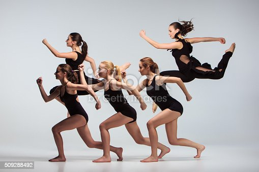 istock The group of modern ballet dancers 509288492