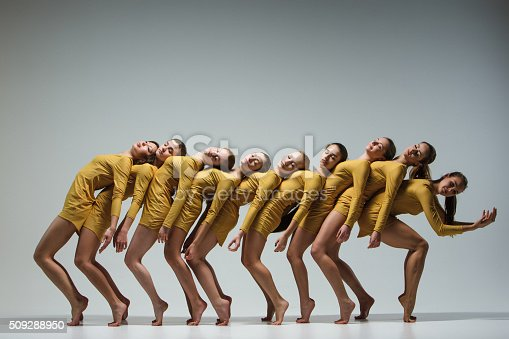 istock The group of modern ballet dancers 509288950