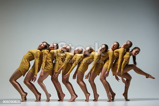 istock The group of modern ballet dancers 509290820