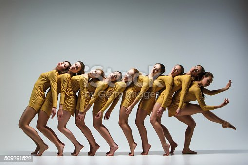 istock The group of modern ballet dancers 509291522