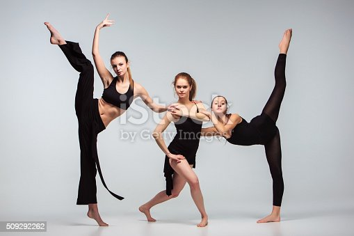 511309540 istock photo The group of modern ballet dancers 509292262