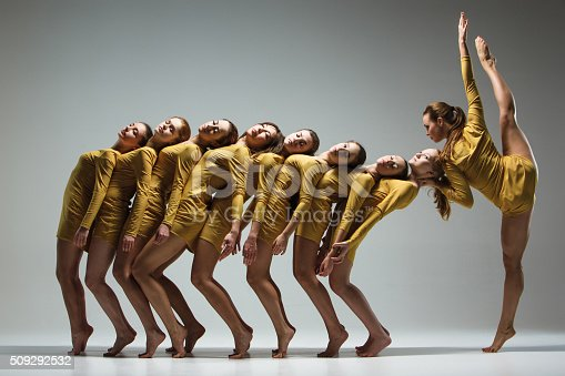 istock The group of modern ballet dancers 509292532
