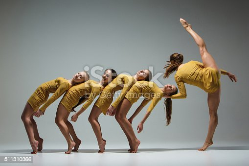 istock The group of modern ballet dancers 511310366