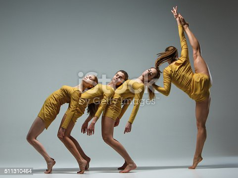 istock The group of modern ballet dancers 511310464