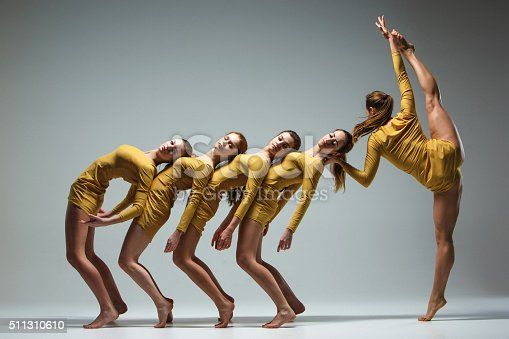 istock The group of modern ballet dancers 511310610