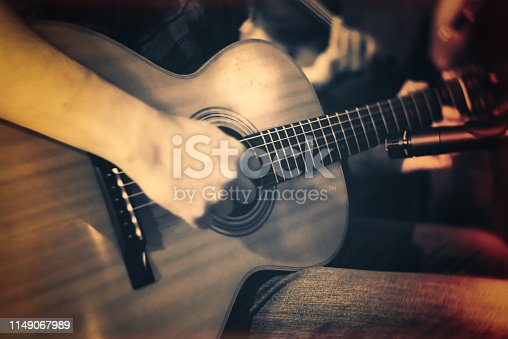 Nightclub, Jazz, Folk music, vintage, guitar