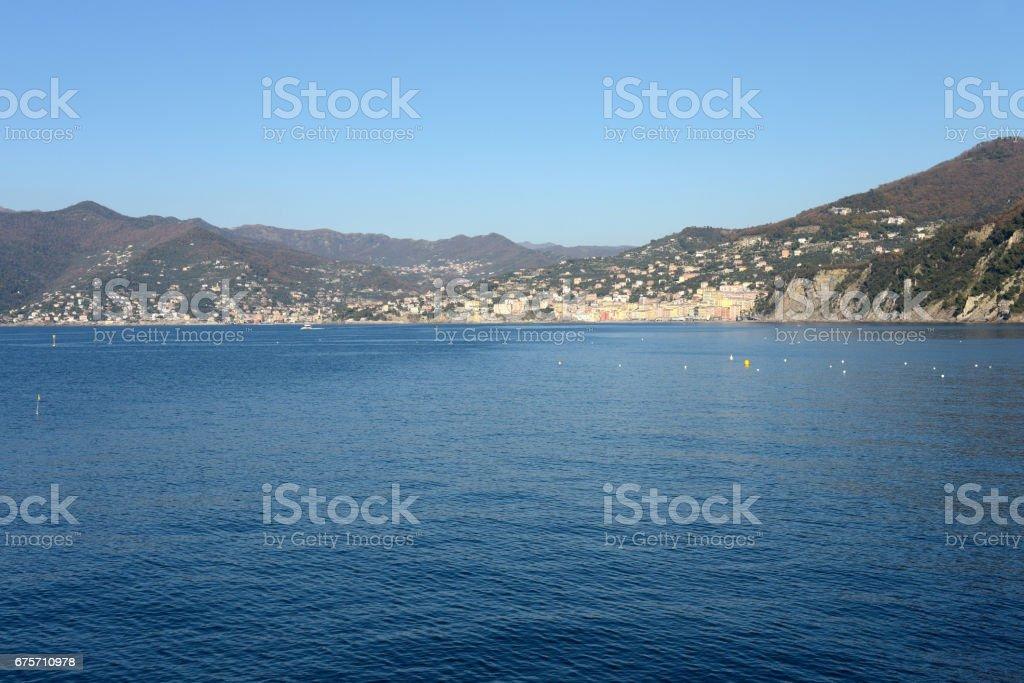 The gulf of Camogli 免版稅 stock photo