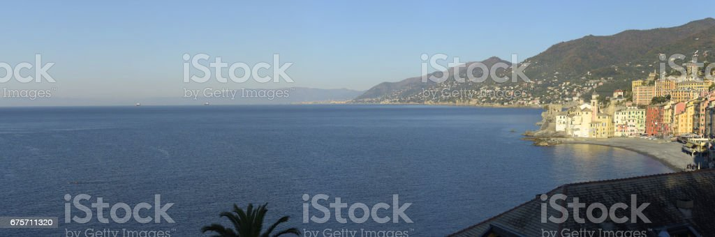 The gulf of Camogli 免版稅 stock photo