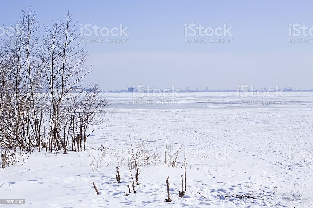 The Gulf of Finland royalty-free stock photo
