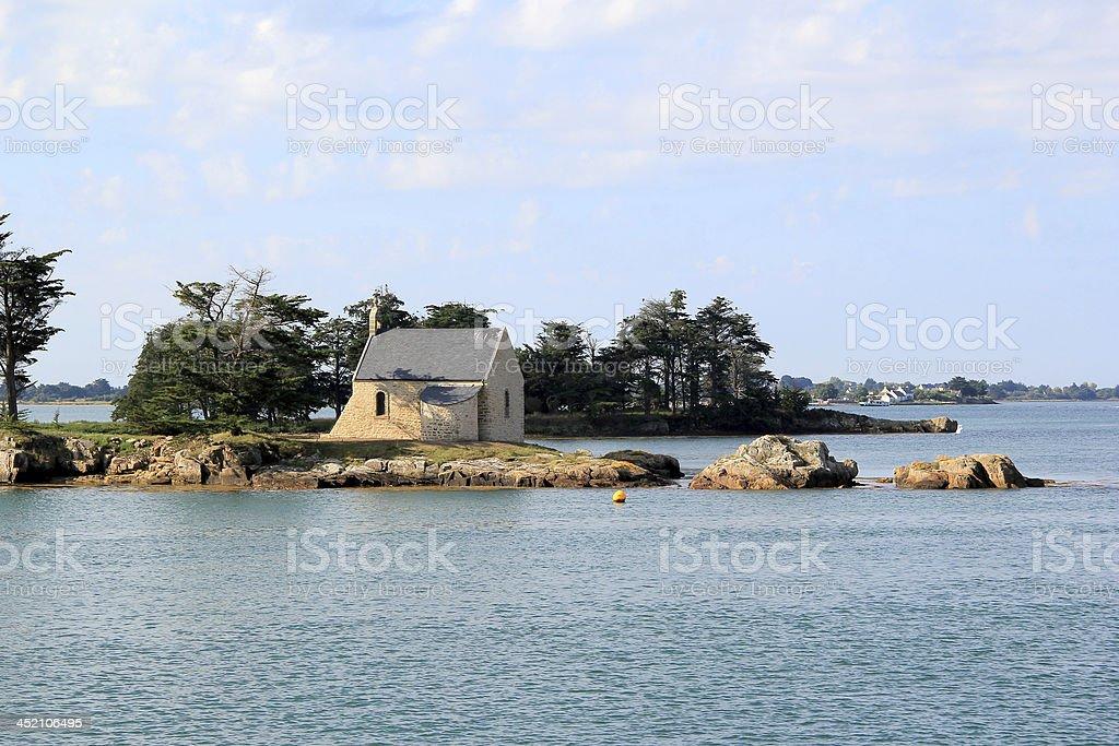 The Gulf of Morbihan stock photo