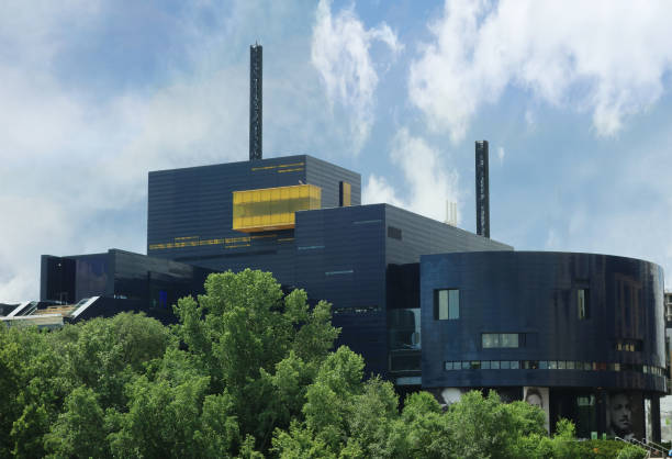 The Guthrie Theater in downtown Minneapolis stock photo