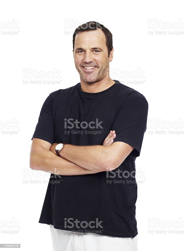 The guy next door... stock photo