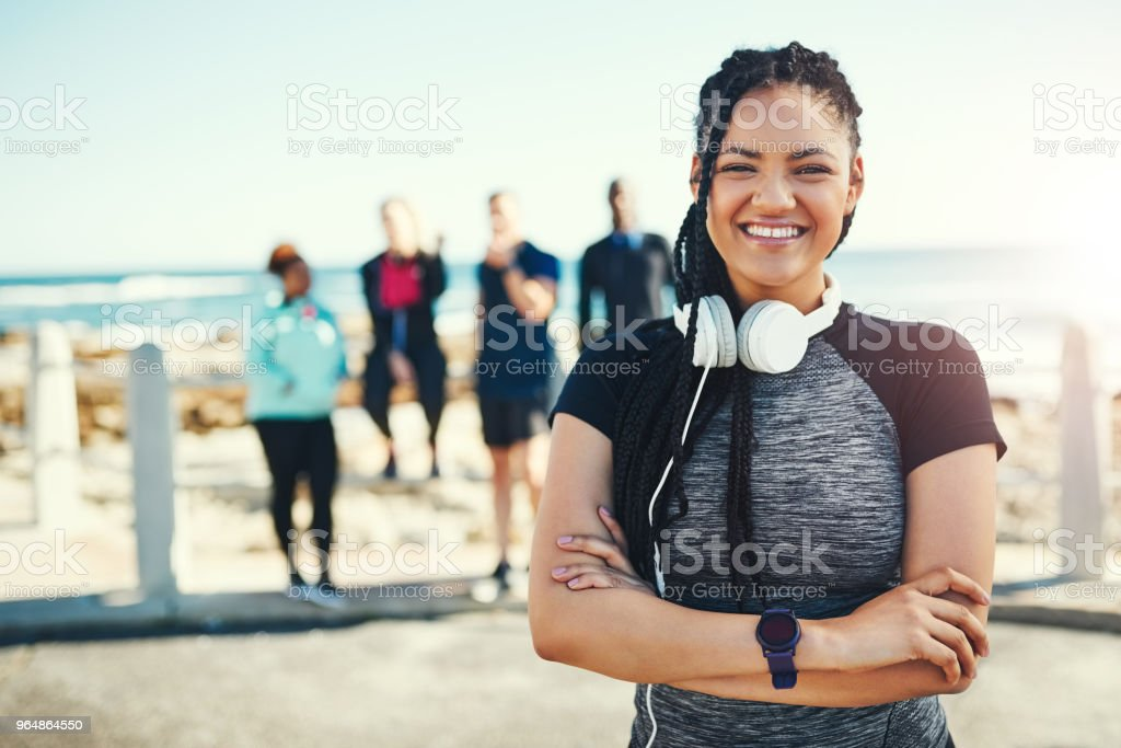 The gym isn't the only place to workout royalty-free stock photo